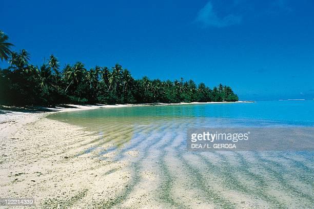 French Polynesia Society Islands Motu atoll Coral
