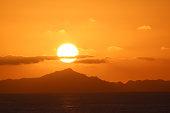 French Polynesia sunset