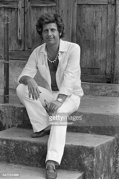 French pop singer Joe Dassin on holiday