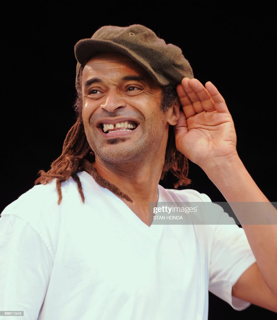 French Pop Star Yannick Noah Performs In New York s Central Park