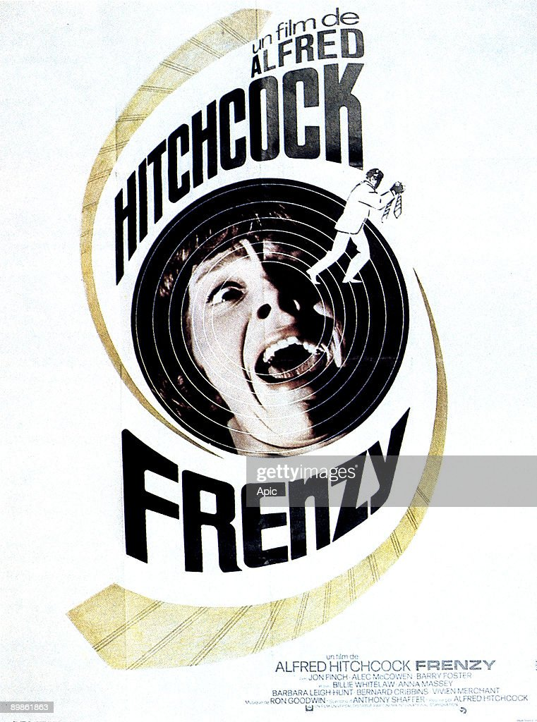French poster for the film 'Frenzy' by Alfred Hitchcock, 1972