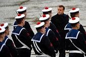 FRA: November 11 Commemoration At The Arc de Triomphe
