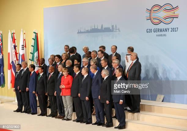 French president Emmanuel Macron US president Donald Trump Indonesian president Joko Widodo Mexican president Enrique Pena Nieto South African...