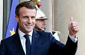 FRA: France's President Emmanuel Macron Welcomes Felix Tshisekedi Tshilombo, President of the Democratic Republic of the Congo