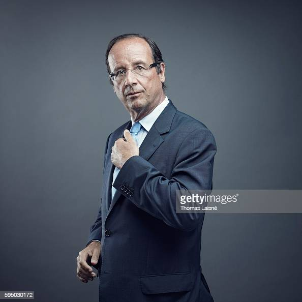 French president Francois Hollande is photographed for Self Assignment on August 17 2011 in Paris France