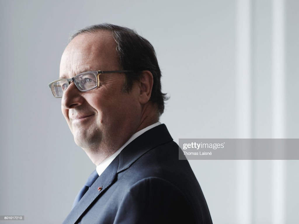 French President Francois Hollande is photographed on June 6, 2017 in Paris, France.