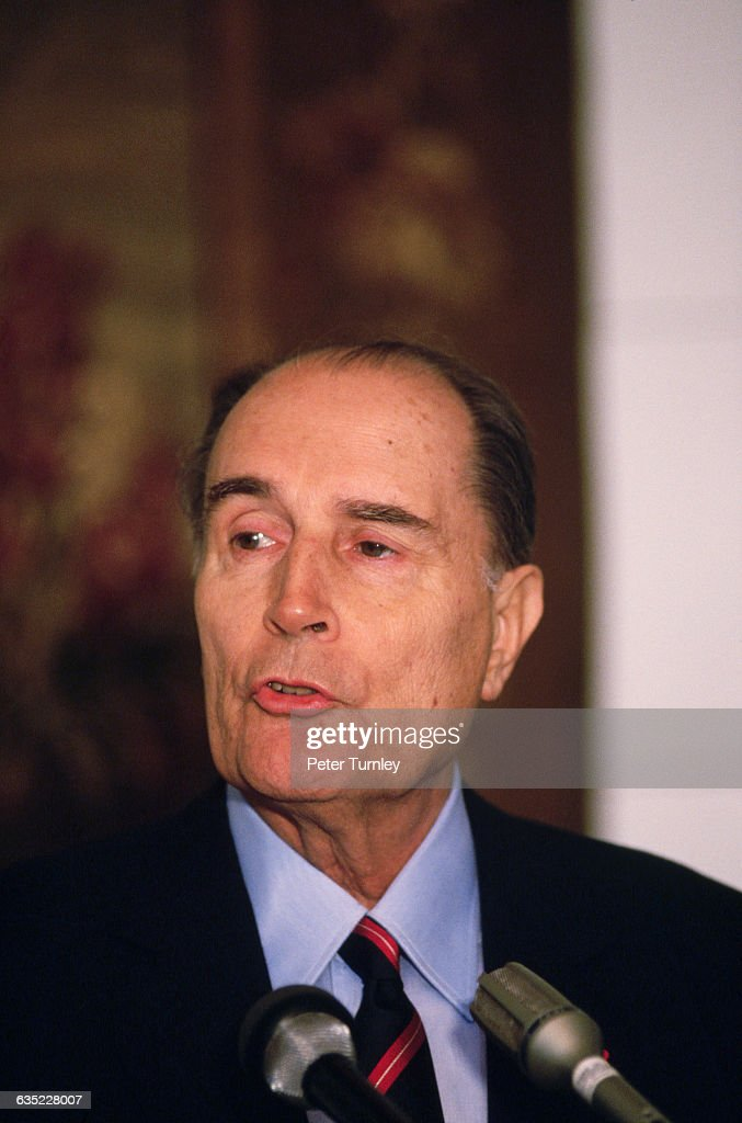 French President <a gi-track='captionPersonalityLinkClicked' href=/galleries/search?phrase=Francois+Mitterrand&family=editorial&specificpeople=208938 ng-click='$event.stopPropagation()'>Francois Mitterrand</a>
