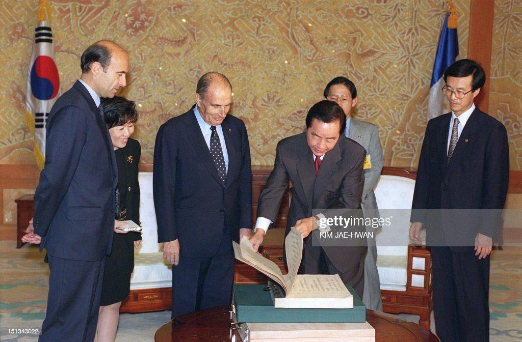 Mitterrand Old