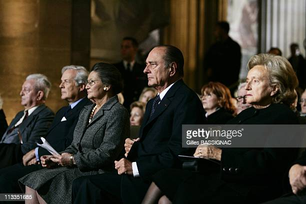 French President Jacques Chirac Delivers A Speech During A Ceremony Honoring French People Who Rescued Jews From The Nazis During Ww Ii At The...