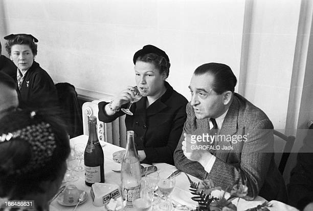 French Presidential Elections Of 1953 France Versailles décembre 1953 René Coty alors viceprésident du Conseil de la République vient d'être élu...