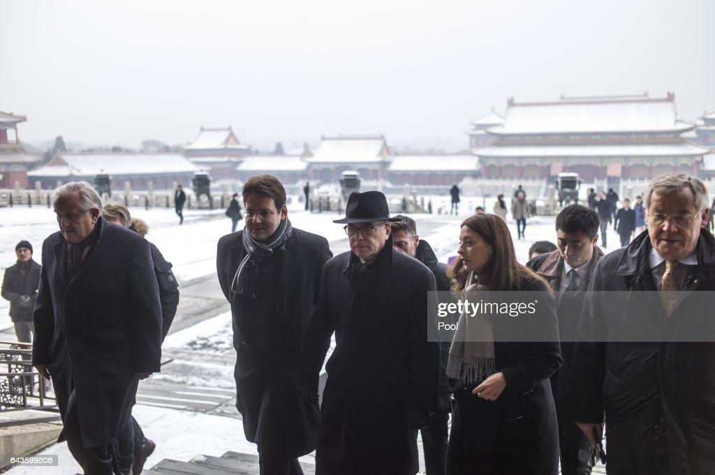 French Prime Minister Bernard Cazeneuve Visits The Forbidden City