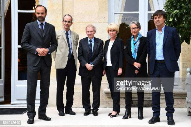 French Prime Minister Edouard Philippe French Minister of Transport Elisabeth Borne French Minister of Ecological and Inclusive Transition Nicolas...