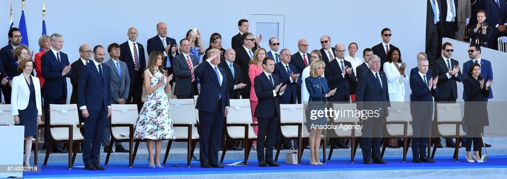 Trump - Macron - Bastille Day Parade