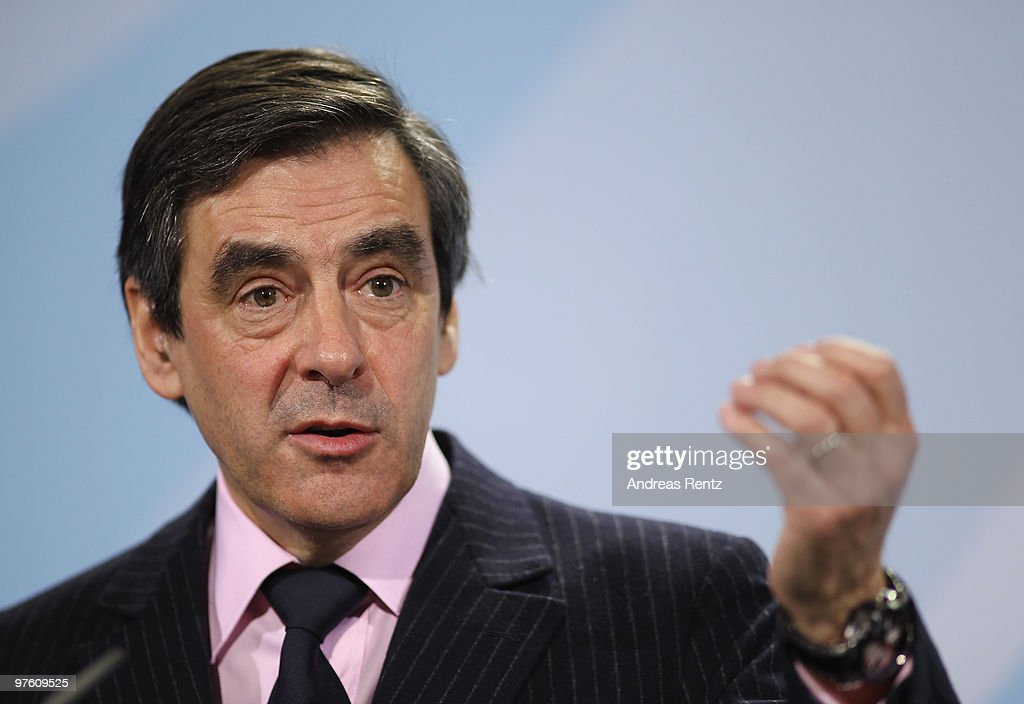 Merkel Meets With French Prime Minister Fillon