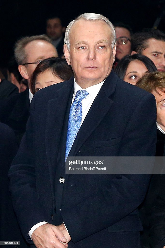 French Prime Minister Jean-Marc Ayrault watches the Bartabas show whyle the 'Nuit De La Chine' - Opening Night at Grand Palais on January 27, 2014 in Paris, France.