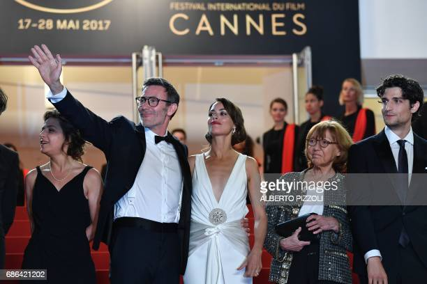 French producer Florence Gastaud French director Michel Hazanavicius FrenchArgentinian actress Berenice Bejo French actress/director and French...