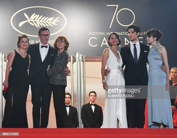 French producer Florence Gastaud French director Michel Hazanavicius FrenchArgentinian actress Berenice Bejo French actress/director and Swiss...
