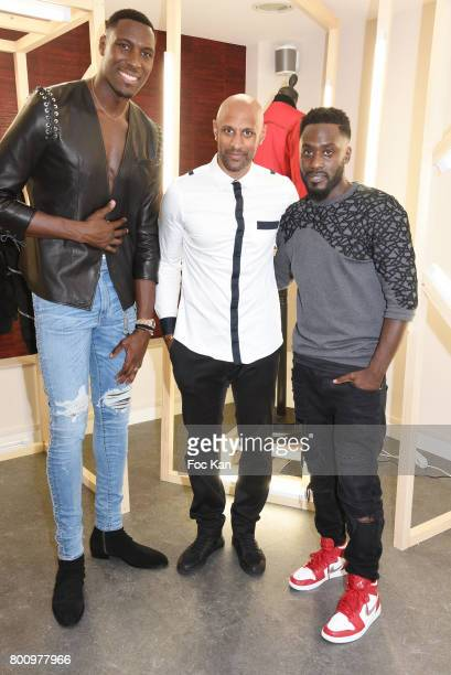 French professional basketball player for the Washington Wizards Ian Manhinmi Former French football player Ousmane Dabo and Designer Steeven Kodjia...