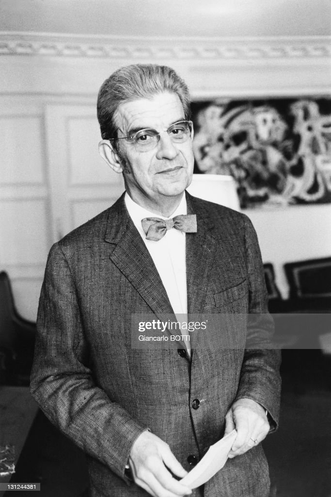French psychoanalyst and psychiatrist Jacques Lacan in 1967.