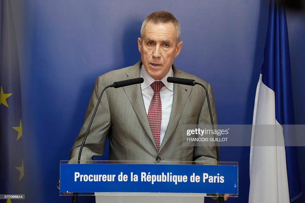 Image result for public prosecutor of Paris Francois Molins
