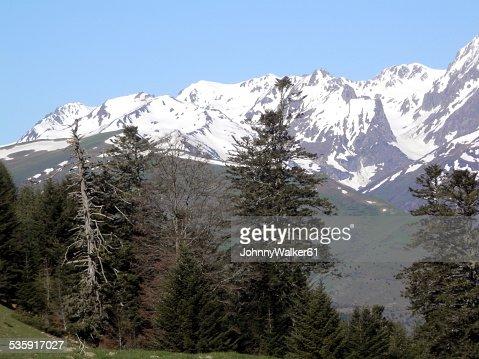 Francia pirineos : Foto de stock