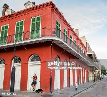 French Quarter NOLA : Stock Photo
