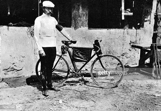 French racing cyclist Maurice Garin winner of the first Tour de France in 1903