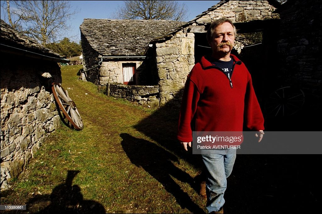 French Radical Farmer <a gi-track='captionPersonalityLinkClicked' href=/galleries/search?phrase=Jose+Bove&family=editorial&specificpeople=211205 ng-click='$event.stopPropagation()'>Jose Bove</a> Prepares His Election Campaign In His Ecological Farm In The Village Of Montredon, France On February 19, 2007 - <a gi-track='captionPersonalityLinkClicked' href=/galleries/search?phrase=Jose+Bove&family=editorial&specificpeople=211205 ng-click='$event.stopPropagation()'>Jose Bove</a>.