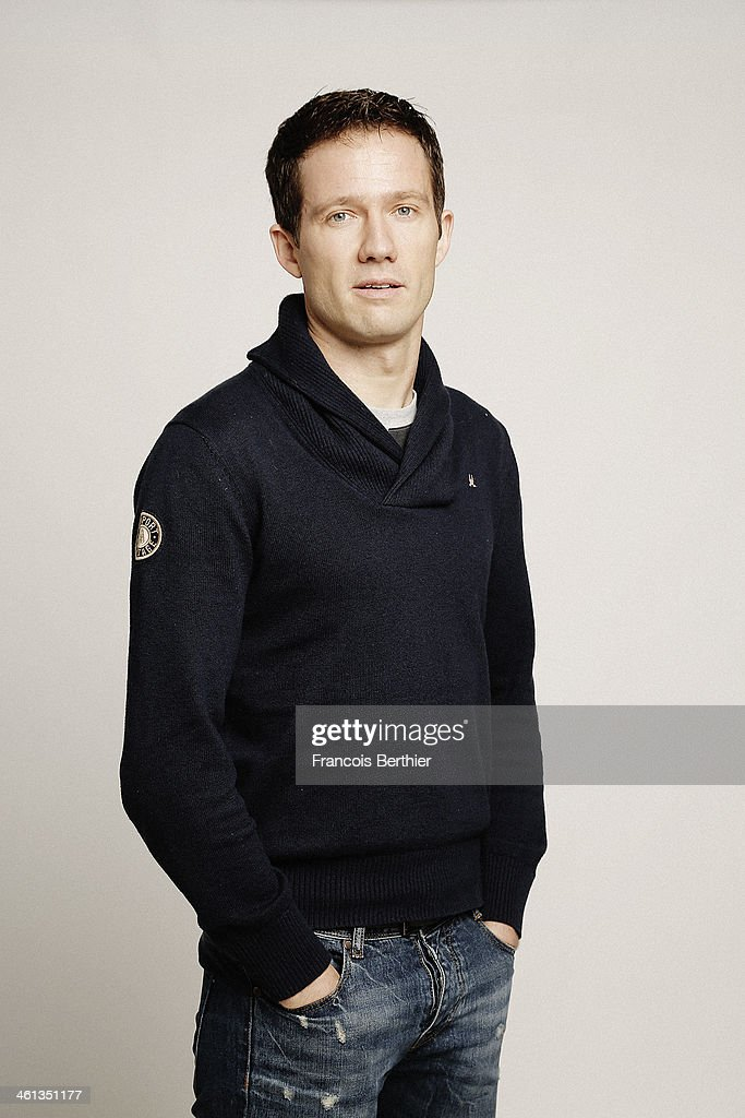 French rally driver <a gi-track='captionPersonalityLinkClicked' href=/galleries/search?phrase=Sebastien+Ogier&family=editorial&specificpeople=4946813 ng-click='$event.stopPropagation()'>Sebastien Ogier</a> is photographed for Self Assignment on December 9, 2013 in Paris, France.
