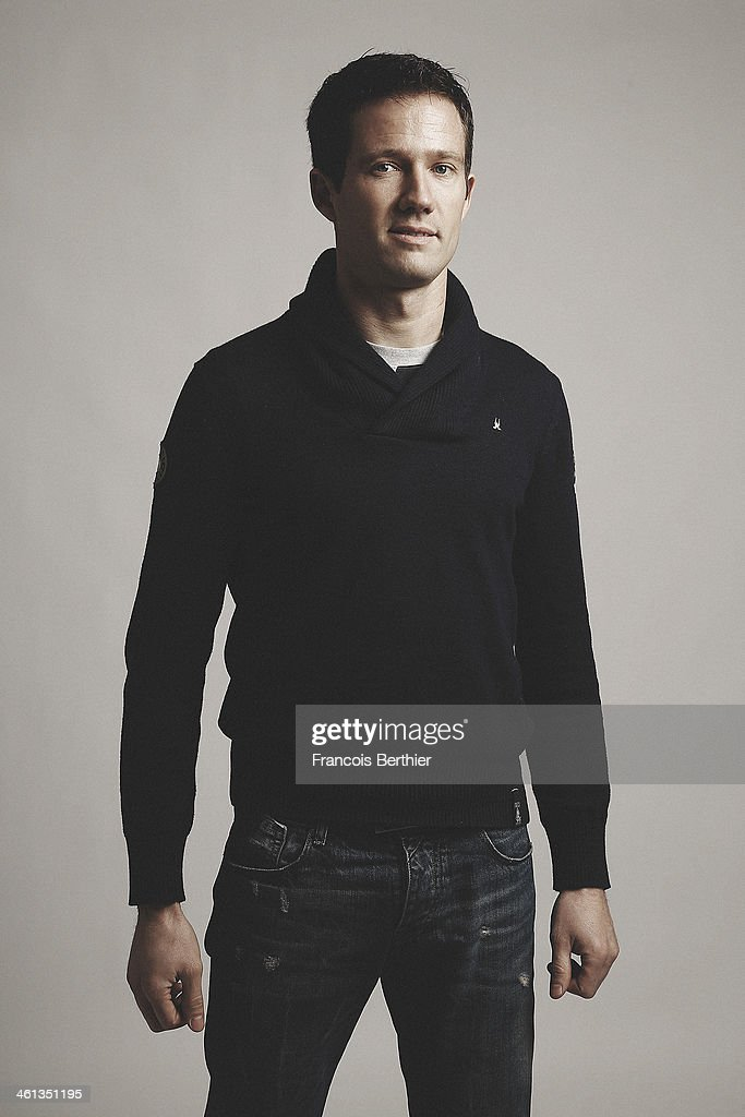 French rally driver Sebastien Ogier is photographed for Self Assignment on December 9, 2013 in Paris, France.