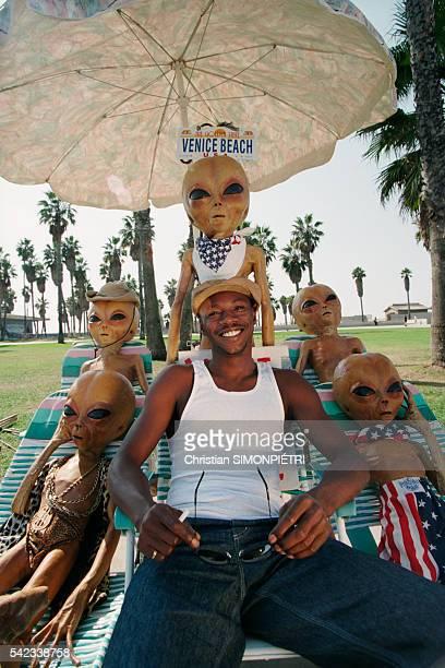 French Rap Singer MC Solaar in Los Angeles