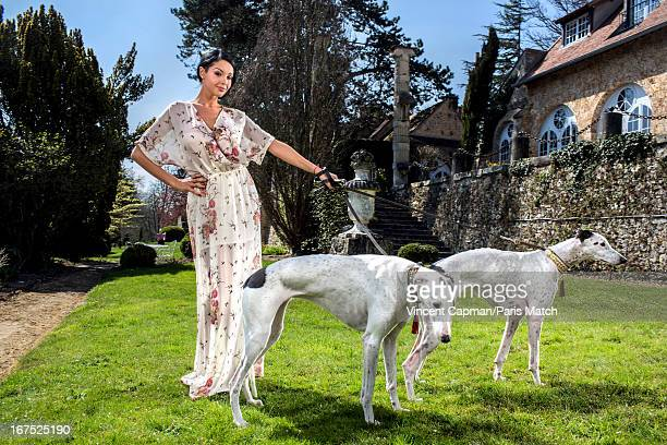French reality tv star and muse for Jean Paul Gaultier Nabilla is photographed for Paris Match on April 21 2013 in Les EssartsleRoi France
