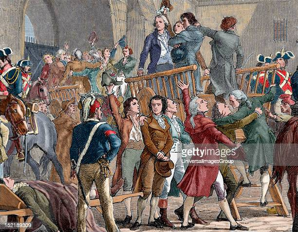 French Revolution The Girondists out of jail to go to the gallows Moderate politicians and federalists belonging to the provincial bourgeoisie were...