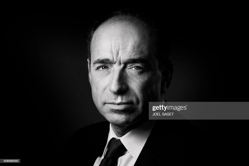 French right-wing Les Republicains (LR) MP Jean-Francois Cope poses in Paris on February 10, 2016. / AFP / JOEL SAGET