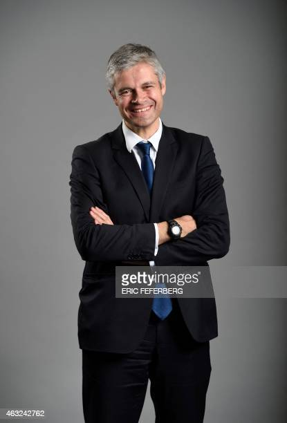 French righwing party UMP general secretary Laurent Wauquiez poses on February 11 2015 at the party headquarters in Paris AFP PHOTO / ERIC FEFERBERG
