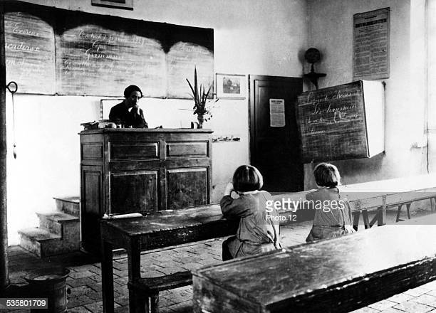 French schools without pupils 1927