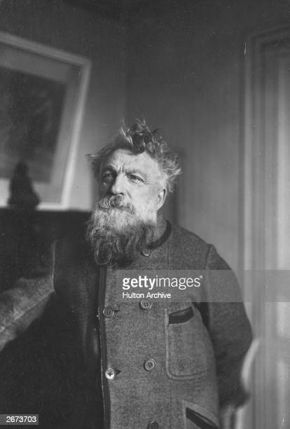 French sculptor Auguste Rodin