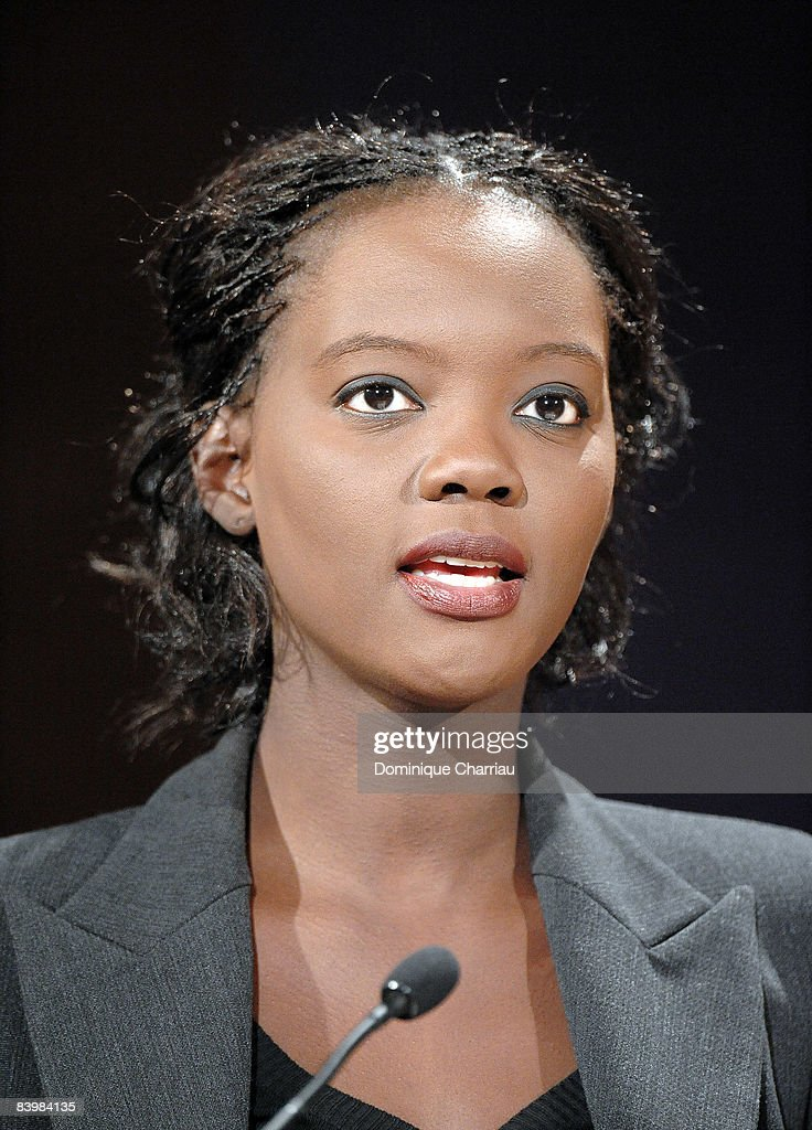 French Secretary of State for Foreign Affairs and Human Rights Rama Yade attends the UNESCO/Bilbao Prize for the Promotion of a Culture of Human Rights on December 10, 2008 in Paris, France.