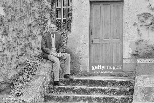 French Secretary of State of Agriculture and author JeanFrancois Deniau at home near Blois