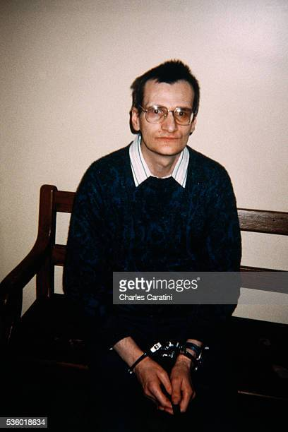 French serial killer Francis Heaulme at the Quimper courthouse
