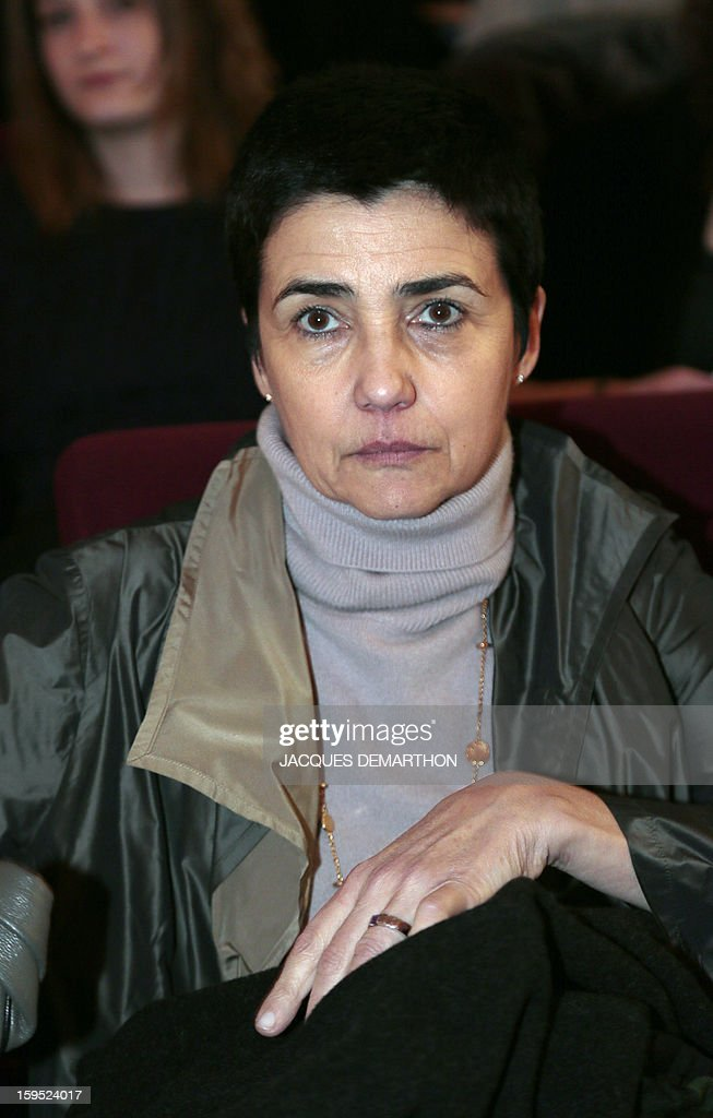 French Simone Bonnafous, general director for Higher Education, attends a debate upon student success, on January 14, 2013, at Paris Diderot University, ahead of French government's draft law on higher education and research.