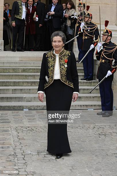 simone veil stock photos and pictures getty images. Black Bedroom Furniture Sets. Home Design Ideas