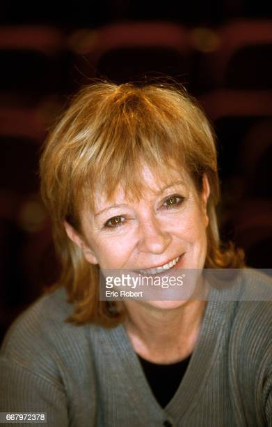 French singer Alice Dona is at the Bobino music hall in Paris Dona took over as the theater's director in 1998