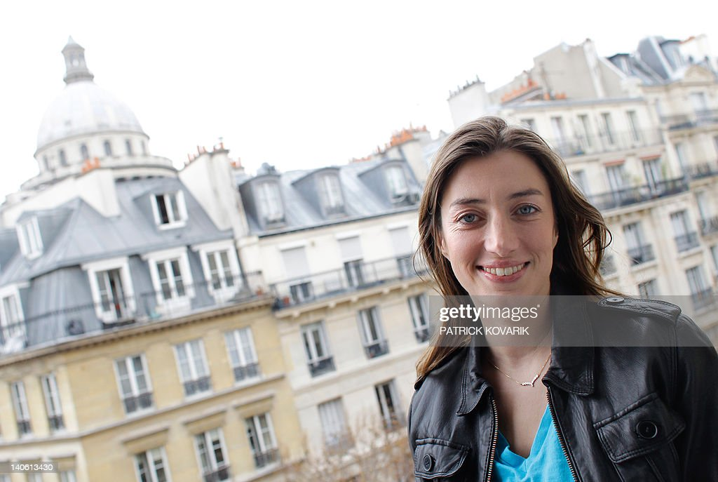 French singer Anais poses on February 28, 2012 in Paris during the promotion of her new album 'A l'eau de Javel'.