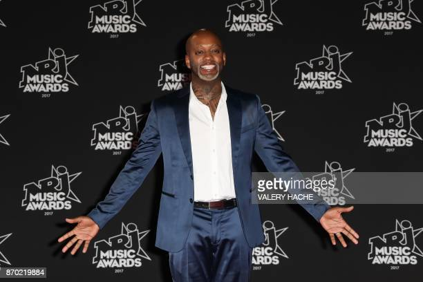 French singer and DJ Willy William poses upon his arrival to attend the 19th NRJ Music Awards at the Palais des Festivals in Cannes southeastern...