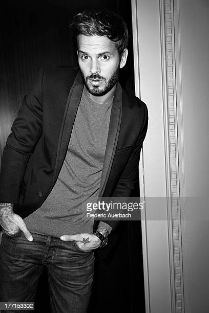 French singer and song writer Matt Pokora is photographed for ELLE France on May 1 2013 in Paris France PUBLISHED IMAGE