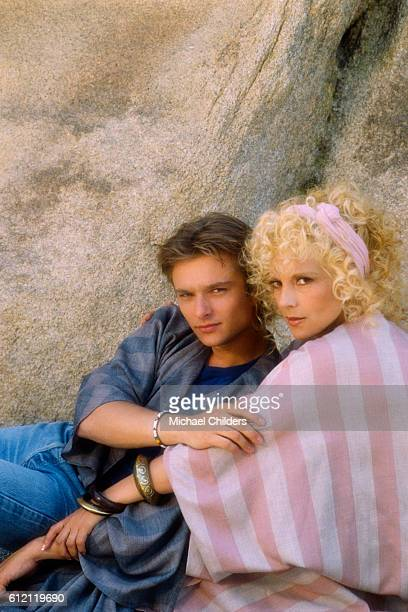 French singer and songwriter David Hallyday and his mother the Bulgarianborn singer Sylvie Vartan in Joshua Tree