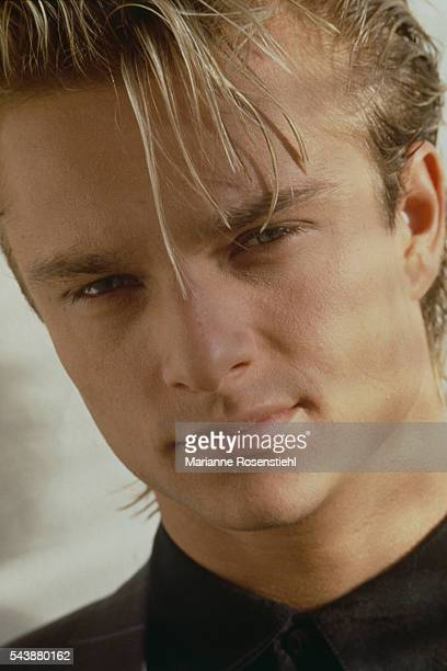 French singer and songwriter David Hallyday