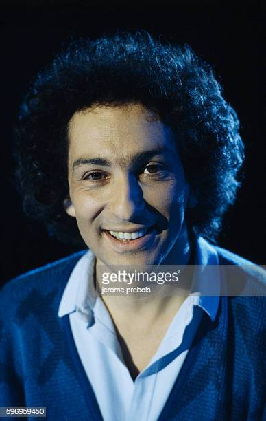 French singer and songwriter Michel Berger