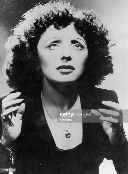 French singer Edith Piaf affectionately known as the 'Sparrow of Paris' 'Piaf' translates as 'sparrow'